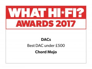 Chord Mojo What HiFi?